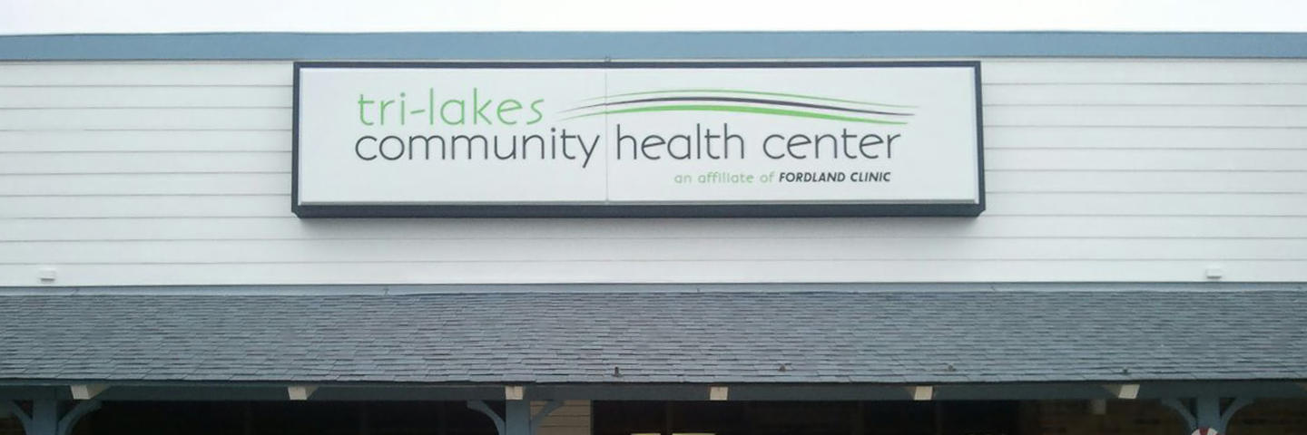 Tri-Lakes Building Sign