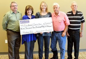 Webster Electric Foundation grant