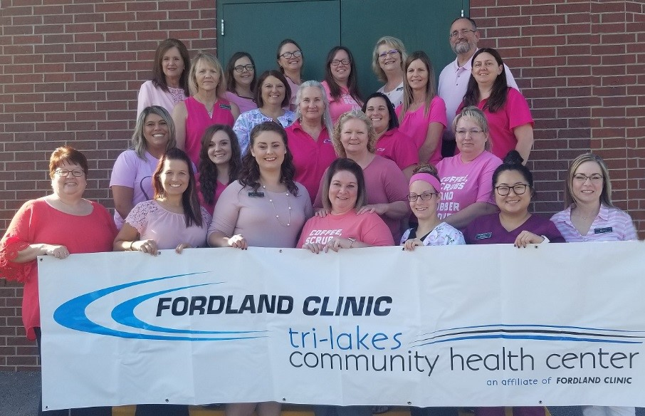 Fordland Staff in Pink