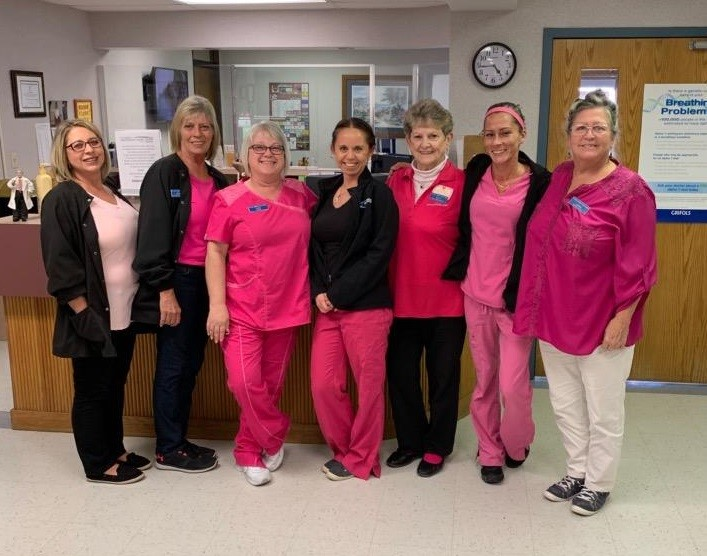 Kimberling City Staff in Pink
