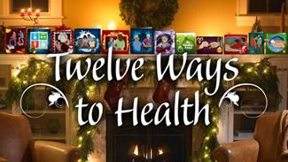 12 Days of Christmas Holiday Health Tips image